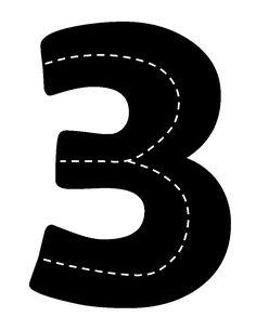 Kinderen oefenen de cijfers door over de weg te rijden