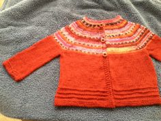 Child's Sweater http://lilaandclaudines.com/