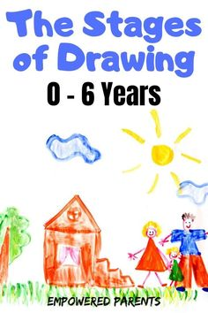 Learn how children use drawing to express their understanding of the world, what the stages of drawing mean, and why it's so important to focus on the process of creative drawing. drawing Why is Drawing so Important for Children? Pre Reading Activities, Fine Motor Activities For Kids, Drawing Activities, Preschool Activities, Kids Learning, Early Learning, Child Development Stages, Toddler Development, Child Development Activities