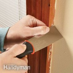 How to remove paint drips and spatters on trim after painting walls, and how to avoid them in the first place! at Handyman
