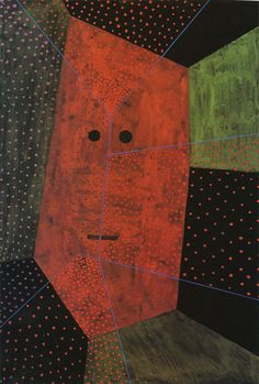 Paul Klee Portrait O.T. 1931 48.5 x 32.5 cm Gouache on black paper, mounted on painted cardboard The Hillman Family Collection, New York