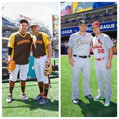 Jose Fernandez with his childhood buddy Aledmys Diaz at this years Allstar Game. So sad to lose such a talent and genuinely nice guy! #ripjosefernandez