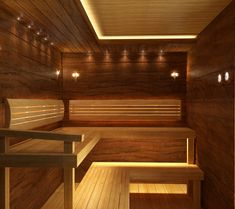 Sauna Design, Sauna Room, Spa, Stairs, Ceiling, Furniture, Home Decor, Homemade Home Decor, Ceilings