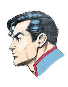 Superman by Fnkny marker style colors by kurt5494 on DeviantArt
