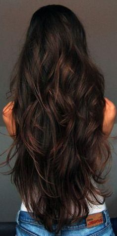 I really want my hair this long!! - more for my curls. Not so much for straight hair..too long for straight hair.