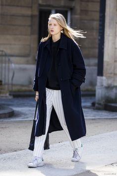 ⚪️ Paris Fashionweek #Street #style #fashion
