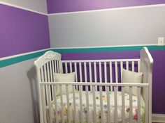 Progress Just Missing The Decal Desiray Gl Grace S Purple Turquoise Nursery