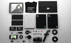 Flux (TV Network Identity Design) by Craig Pinto, via Behance