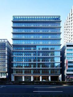 42d58cfa881e 89 件のおすすめ画像(ボード「オフィスビル」) | Building facade ...
