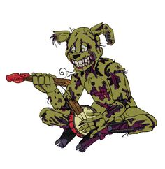 I feel do bad for Springtrap. I mean, he used to be a loved kids character but now he just scares people. I just... I want him to be happy again is all.