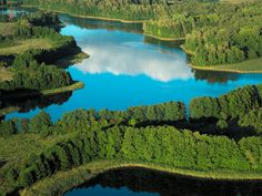 The Masurian Lake District is a lake district in northeastern Poland containing more than 2,000 lakes. I love this place.