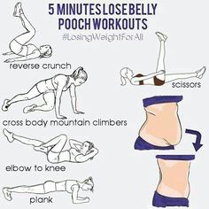 Lose belly exercises