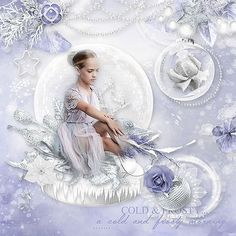 Winter lovers by Celinoa Design http://digital-crea.fr/shop/index.php… Photo Karina Egorova - Lovely Karina use with Permission