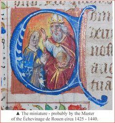 Book of Hours C1450 Illuminated Vellum Leaf Ancient Manuscript Handwritten RARE | eBay