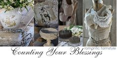 Counting Your Blessings.  Beautiful, vintage goodness.  Very inspiring.
