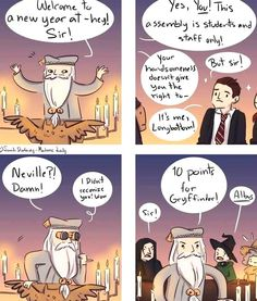 Harry Potter Comics, Harry Potter Puns, Harry Potter Universal, Harry Potter World, Yer A Wizard Harry, Dc Memes, Lily Potter, James Potter, Albus Dumbledore