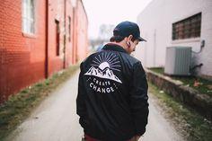 Take Heart Apparel Co. - Create Change Coach's Jacket