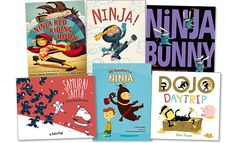 There are several great picture books about ninjas that have been published recently! On air, I mentioned Samurai Santa and Ninja Baby. Check out all of these fun ninja-themed books!