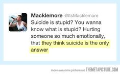 Macklemore nails it…