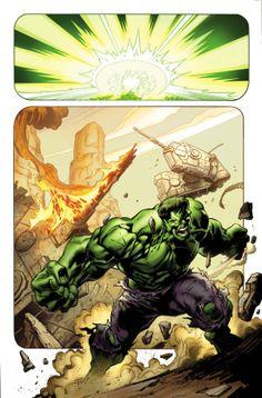Hulk #1 by Mark Bagley *