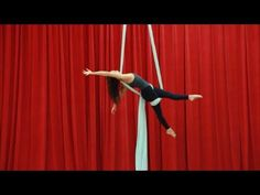 Learn how to do the Secretary Drop with Jill Franklin of Aerial Physique! Want…
