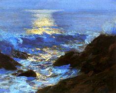 bofransson:    Seascape Moonlight |  Edward Potthast