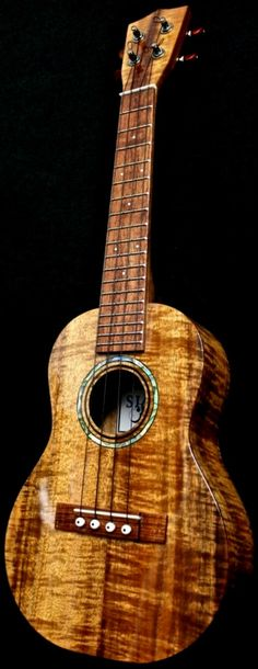 Stanley Ishikawa Concert Ukulele ~ https://www.pinterest.com/lardyfatboy/