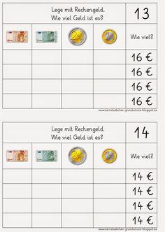 hier noch eine Fortsetzung der Kartei     LG Gille   Schrift: Grundschrift Will Software   Geld: Fabian Röken worksheet crafter     hier ei...