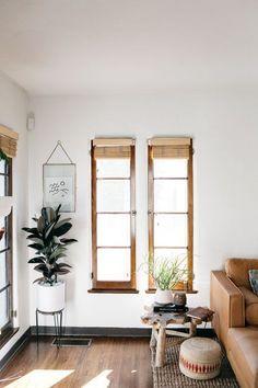 Cool California bohemian home #interiors #inspo