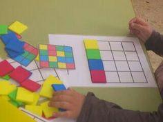 Siga a sequência. Trabalha cores, lógica, pareamento, atenção visual e coordenação motora.