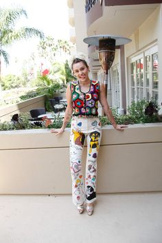 Miley Cyrus at 'Crisis in Six Scenes' Press Conference in Los Angeles 09/08/2016