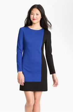 Trina Turk 'Cubist' Colorblock Dress available at #Nordstrom- can't wait to wear her in the fall. #summerpurchase