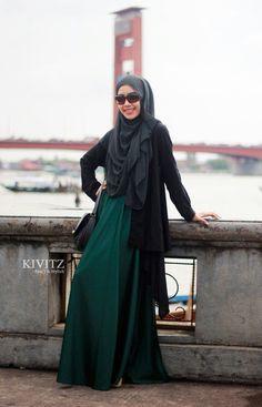 Maxi robe hijab