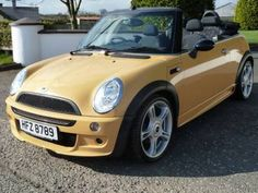 Yellow AND Convertible! 2007 MINI One 1.6 Convertible (John Cooper Works Kit)