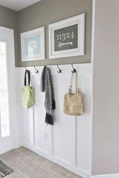 Entryway idea. by annabelle