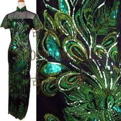chinese gown dress qipao cheongsam wedding 090321 green size 30-40 in stock #shoppingshots #TeaDress #Casual