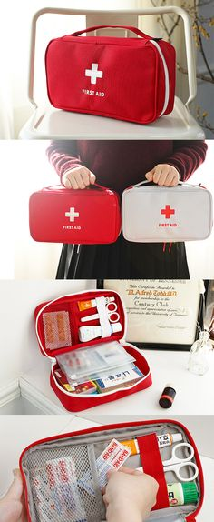 Always be ready when life happens with our helpful Large First Aid Pouch close by! This could a be a lifesaving investment for your and your loved ones. Stay safe out there!