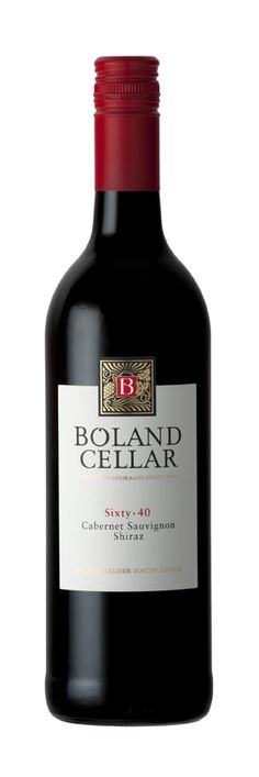 Boland Cellar - Boland Cellar Sixty 40 Cabernet Sauvignon, Shiraz - Paarl, Zuid-Afrika - Vinthousiast, Rupelmonde (Kruibeke) - www.vinthousiast.be