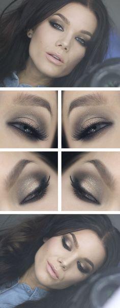 Love how she does her smokey eye looks.