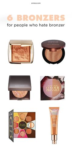 The best bronzers for bronzer-haters