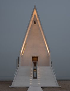 Seashore Chapel by Vector Architects. Photo by Chen Hao.