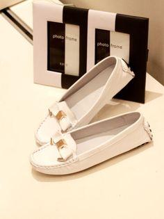The dermis Peas shoes flat shoes
