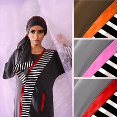 هذه العباءة المميزة ذات التصميم الفريد ، متوفرة بالالوان: كاپوتشينو/ برتقالي ، رمادي / وردي، رمادي/ أحمر، مقاس M, L  This unique design of the Abaya is available in three deferent colours: Cappuccino/Orange, Grey/Pink, Grey/Red Size M & L  للمزيد من التفاصيل تابعوا حساب الفيسبوك  Facebook.com/1azzahashim