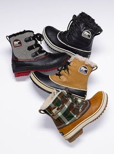 Need to gear up for the upcoming snow season with these cute snow boots