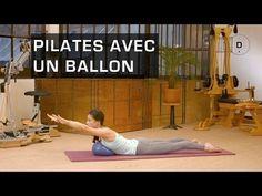Pilates Master Class - Pilates avec un ballon - YouTube