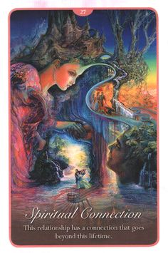 """""""27 Spiritual Connection 2"""" Oracle Cards Whispers of Love par Josephine Wall and…"""