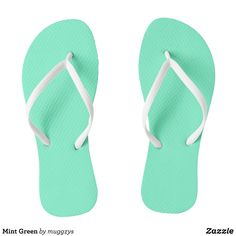 Mint Green Flip Flops - Durable Thong Style Hawaiian Beach Sandals By Talented Fashion & Graphic Designers - #sandals #flipflops #hawaii #beach #hawaiian #footwear #mensfashion #apparel #shopping #bargain #sale #outfit #stylish #cool #graphicdesign #trendy #fashion #design #fashiondesign #designer #fashiondesigner #style