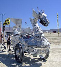 burning man - dragon bike