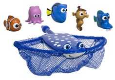 A Mr. Ray dive and catch game for kids who loved Finding Dory.