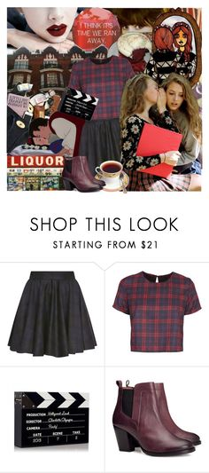 """Every thought of calling when you've had a few?"" by alicegodoy ❤ liked on Polyvore featuring Valfré, Surface To Air, Charlotte Olympia and H&M"